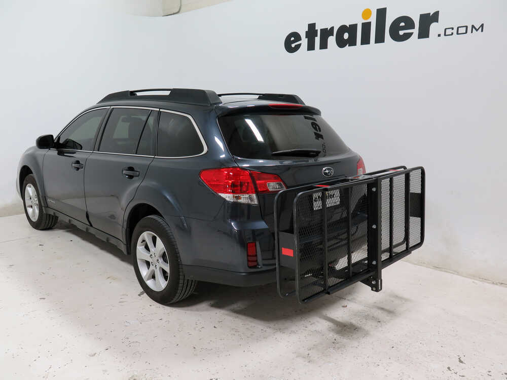2012 subaru outback wagon 24x60 curt cargo carrier for 2 hitches steel folding 500 lbs. Black Bedroom Furniture Sets. Home Design Ideas