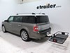C18153 - 24 Inch Wide Curt Flat Carrier on 2013 Ford Flex