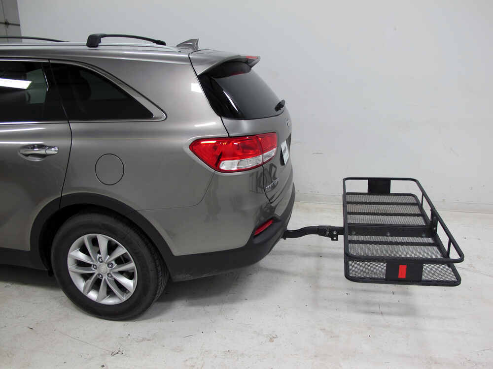 24x60 curt cargo carrier for 2 hitches steel folding. Black Bedroom Furniture Sets. Home Design Ideas