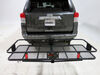 "24x60 Curt Cargo Carrier for 2"" Hitches - Steel - Folding - 500 lbs Fits 2 Inch Hitch C18153"