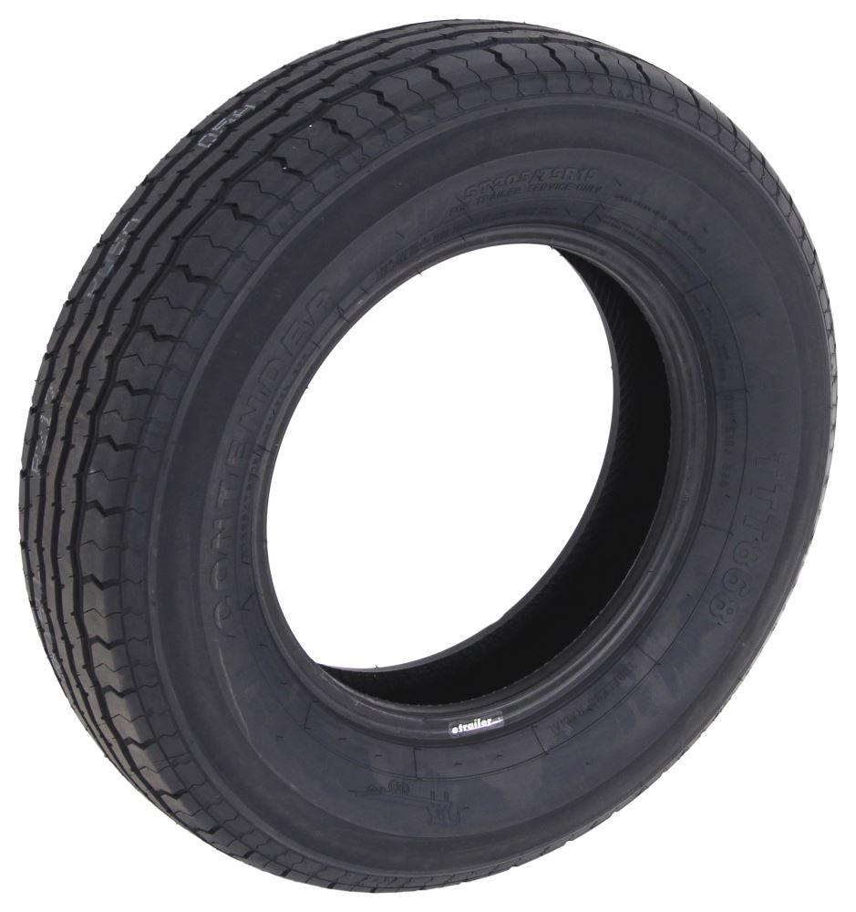 E Rated Trailer Tires Contender ST205/75R15 ...