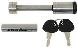 "Curt Hitch Lock - 1-1/4"" and 2"" Hitches - Stainless Steel"