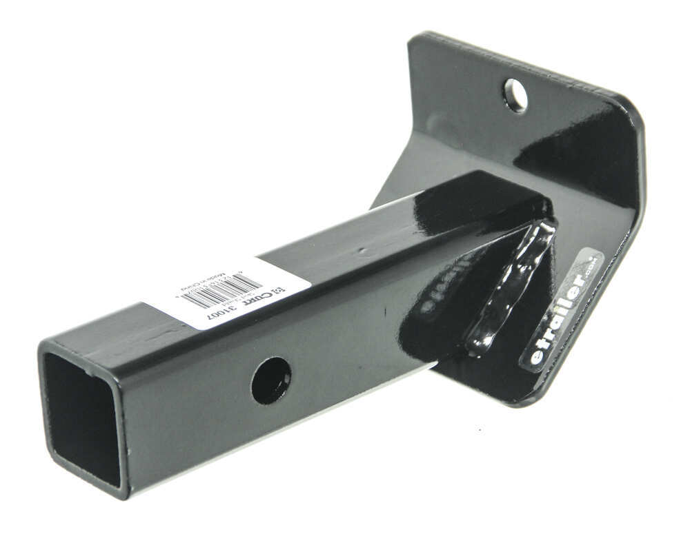 Trailer Hitch And Clips : Curt front mount trailer hitch skid shield