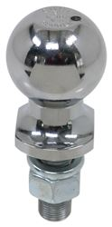 "2"" Hitch Ball - 3/4"" Diameter x 2-1/8"" Long Shank - Chrome - 3,500 lbs"