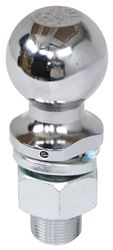 "2-5/16"" Hitch Ball - 1-1/4"" Diameter x 2-5/8"" Long Shank - Chrome - 15,000 lbs"