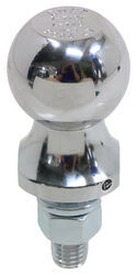 "Curt 1-7/8"" ATV Hitch Ball - 5/8"" Diameter x 1-3/4"" Long Shank - Chrome - 2,000 lbs"