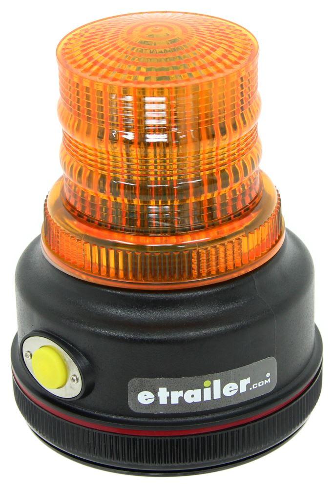 Blazer Amber Warning Beacon   LED   Battery Powered   Magnetic Mount   4  Flash Patterns Blazer Emergency Supplies C43A