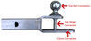 C45005 - Ball Mount Hitch,Clevis Hitch Curt Multi-Function Hitch