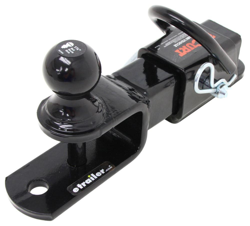 ATV-Tek Trio HD Receiver Hitch with Ball Mount - 583659 ...  |Atv Trailer Hitch