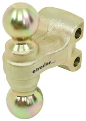 "Replacement 2"" and 2-5/16"" Dual-Sided Hitch Ball for Curt 2"" Adjustable Ball Mount"