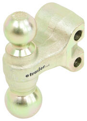 "Replacement 2"" and 2-5/16"" Dual-Sided Ball for Curt 2-1/2"" Adjustable Ball Mount"