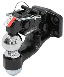 "Curt Pintle Hook with 2-5/16"" Hitch Ball - Bolt On - 16,000 lbs"