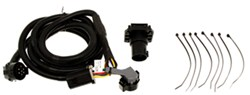 Curt 5th Wheel/Gooseneck Custom Wiring Harness w/ 7-Pole Connector for Aluminum Beds - 10' Long
