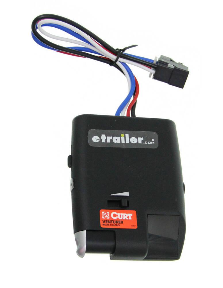 Curt Venturer Trailer Brake Controller - 1 to 3 Axles - Time Delayed ...