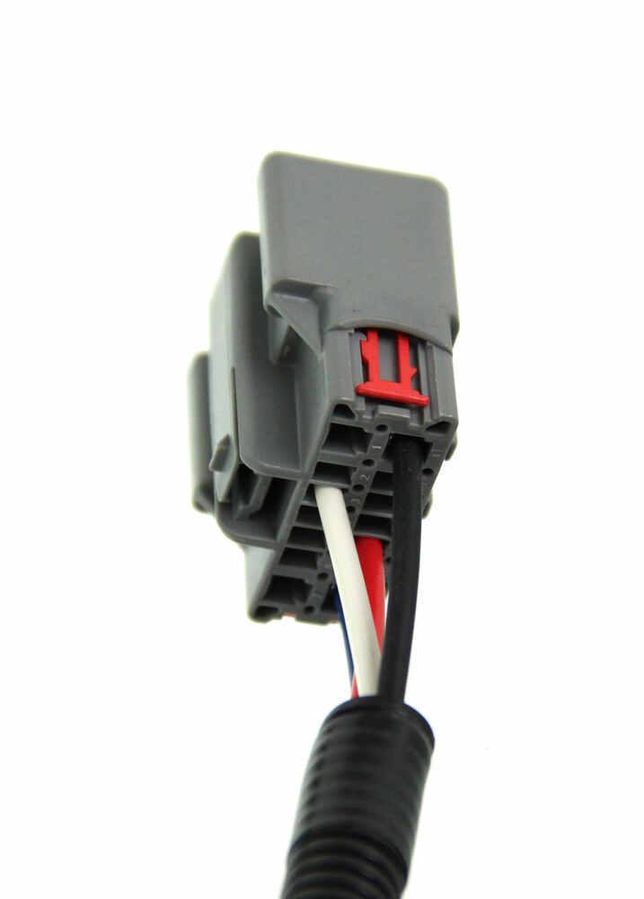 Curt Custom Wiring Adapter for Trailer Brake Controllers - Dual Plug ...