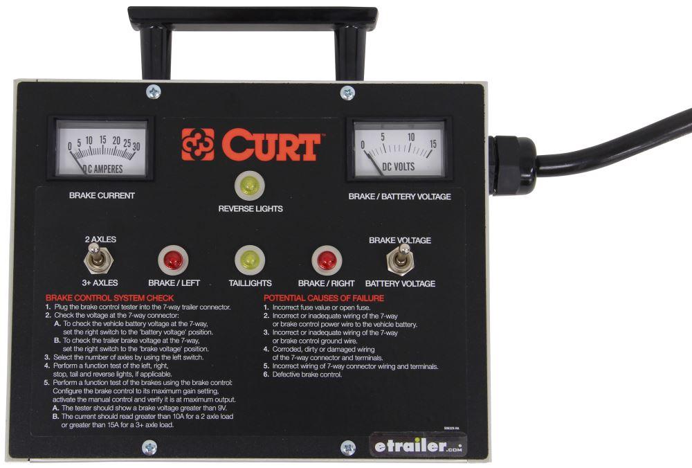 Curt Brake Controller Wiring Circuit Tester