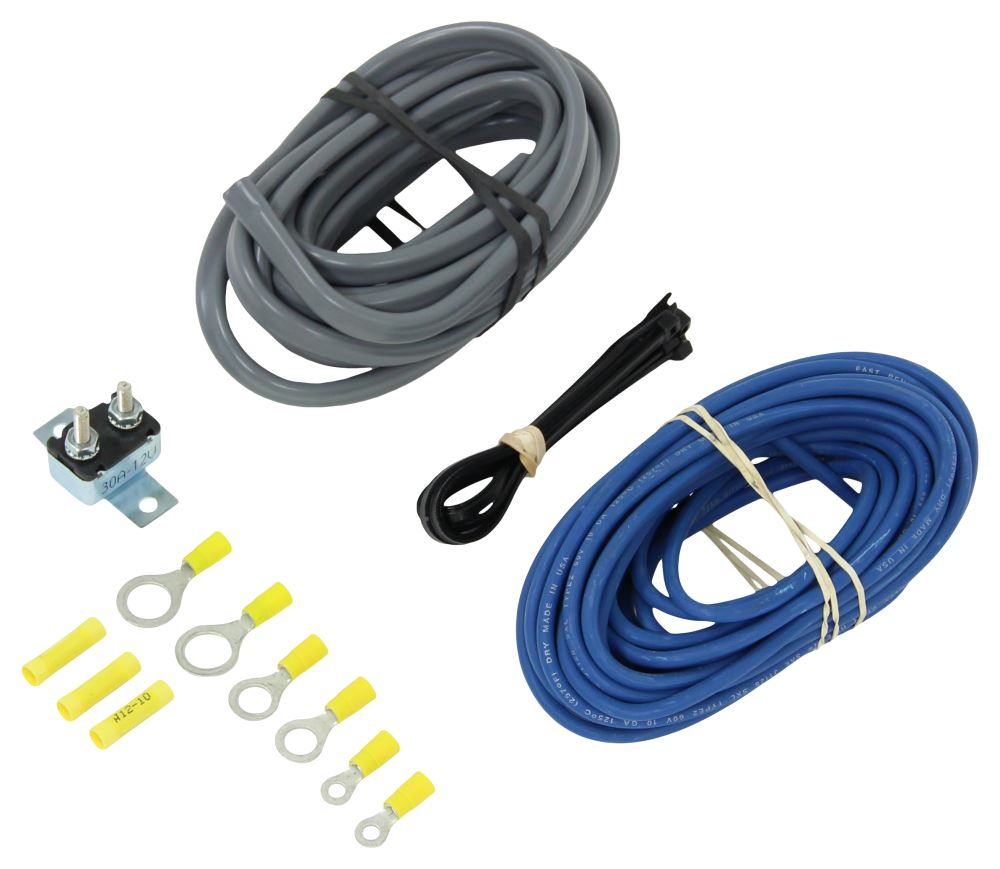 Compare Universal Installation Vs Curt Trailer Wiring Harness Gauge C51500 Brake Controller Accessories And Parts