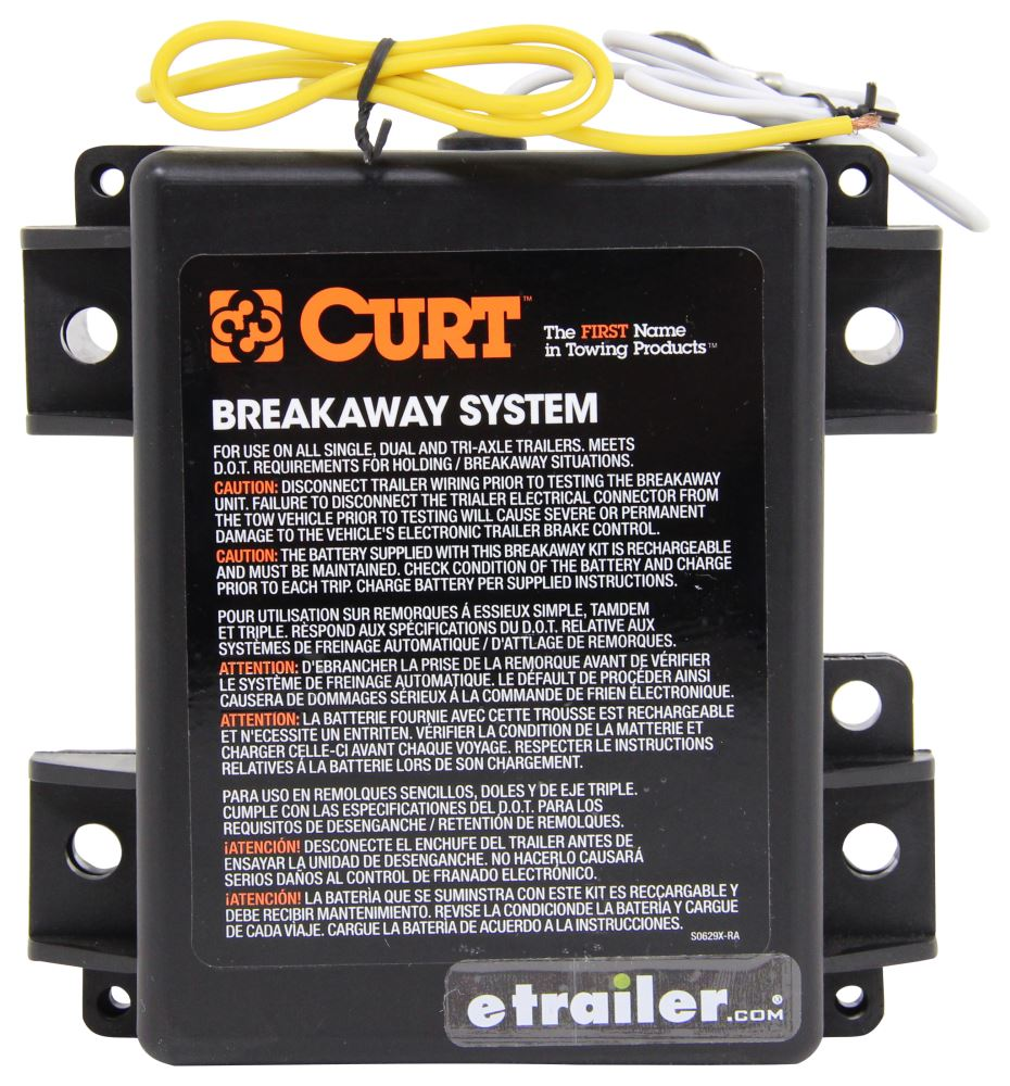 Compare Curt Push To Test Vs Trailer Wiring Battery Charger Breakaway Kit With Built In