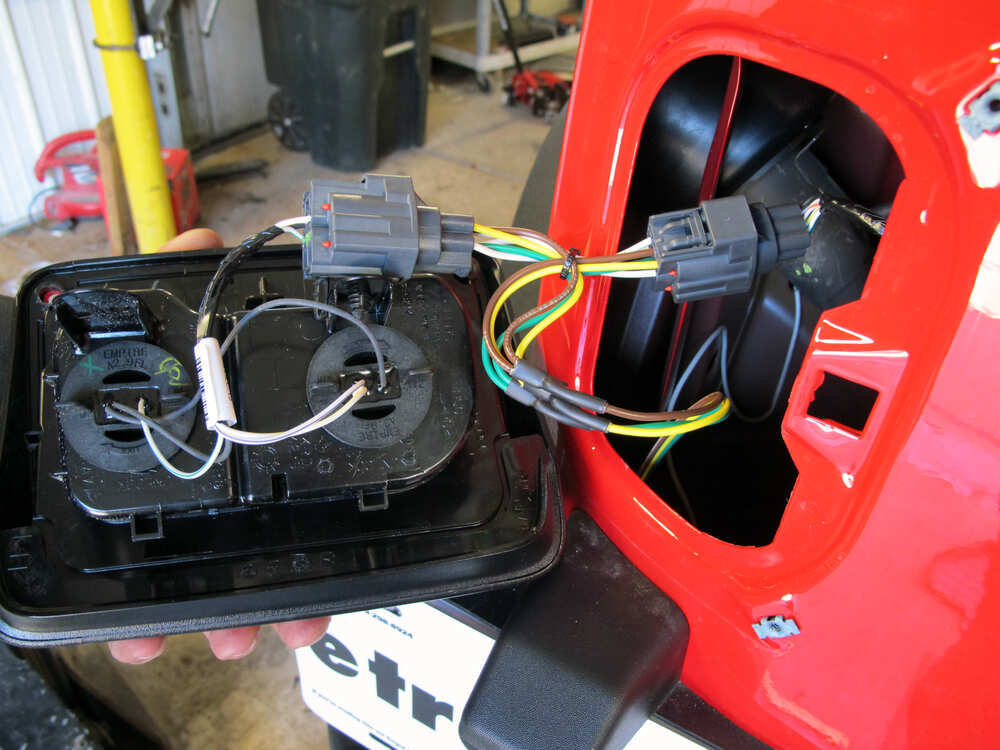 Jeep wrangler curt t connector vehicle wiring harness