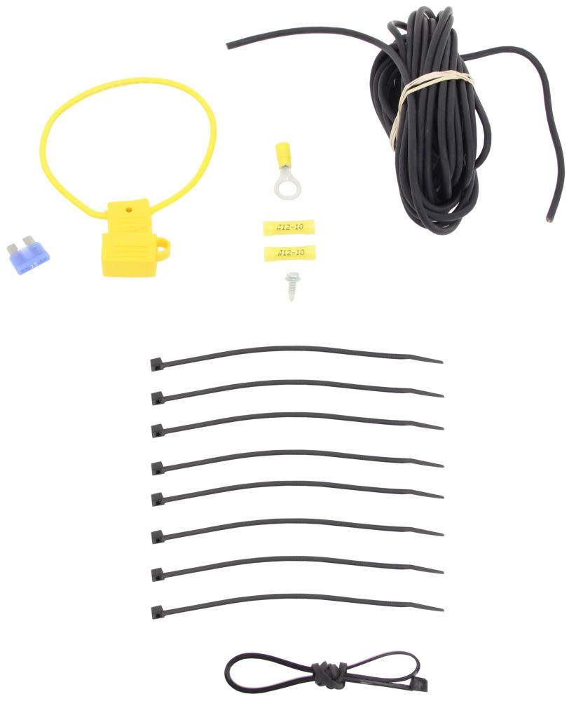 curt powered converter wiring kit