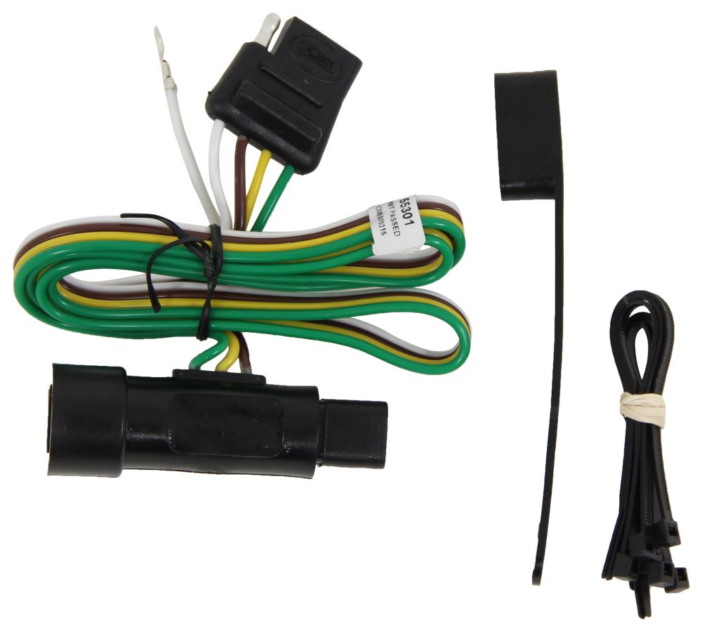 Compare Hopkins Plug In Vs Curt T Connector Vehicle Wiring Harness With 4 Pole Flat Trailer Custom Fit C55301