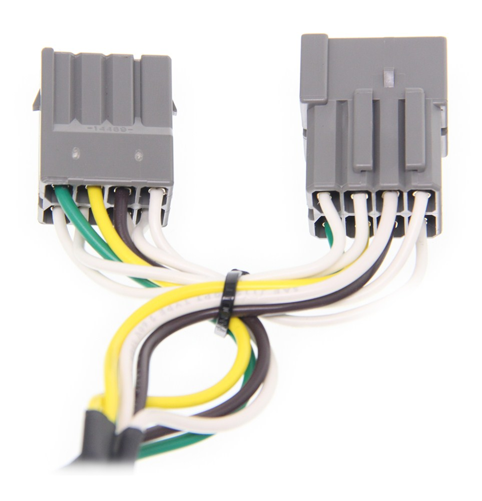 Compare Curt T Connector Vs Hopkins Plug In Wiring Harness C55324 No Converter Custom Fit Vehicle