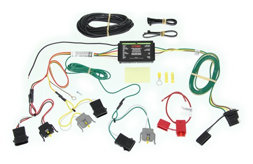 t one vehicle wiring harness with 4 pole flat   45 wiring