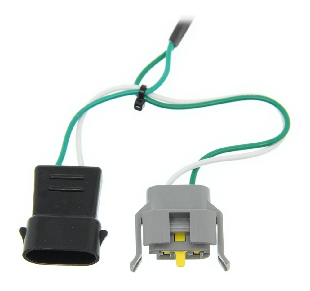 Custom Fit Vehicle Wiring C55345 - Custom Fit - Curt