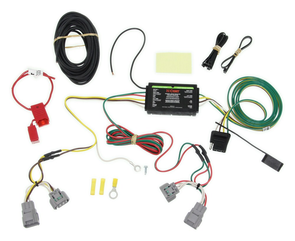 90 jeep cherokee wiring for trailer 1995 jeep grand cherokee custom fit vehicle wiring - curt 90 jeep yj wiring diagram #15