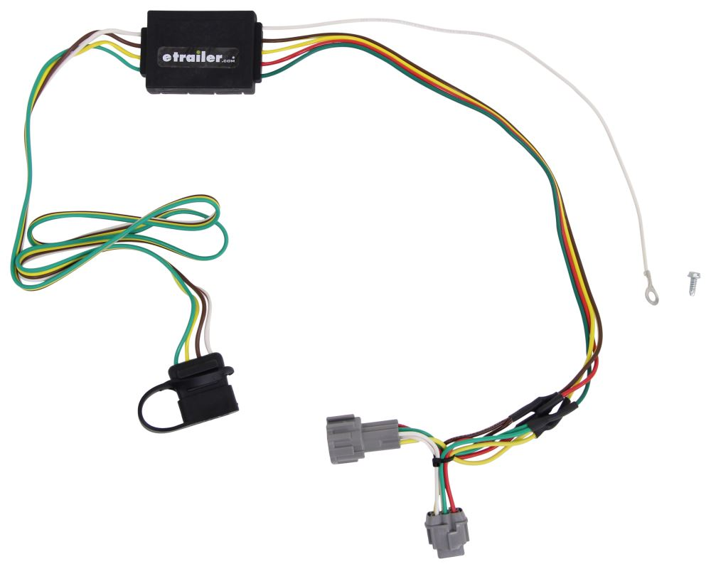 Compare Curt T Connector Vs One Vehicle Wiring Harness Custom Fit C55362 4 Flat