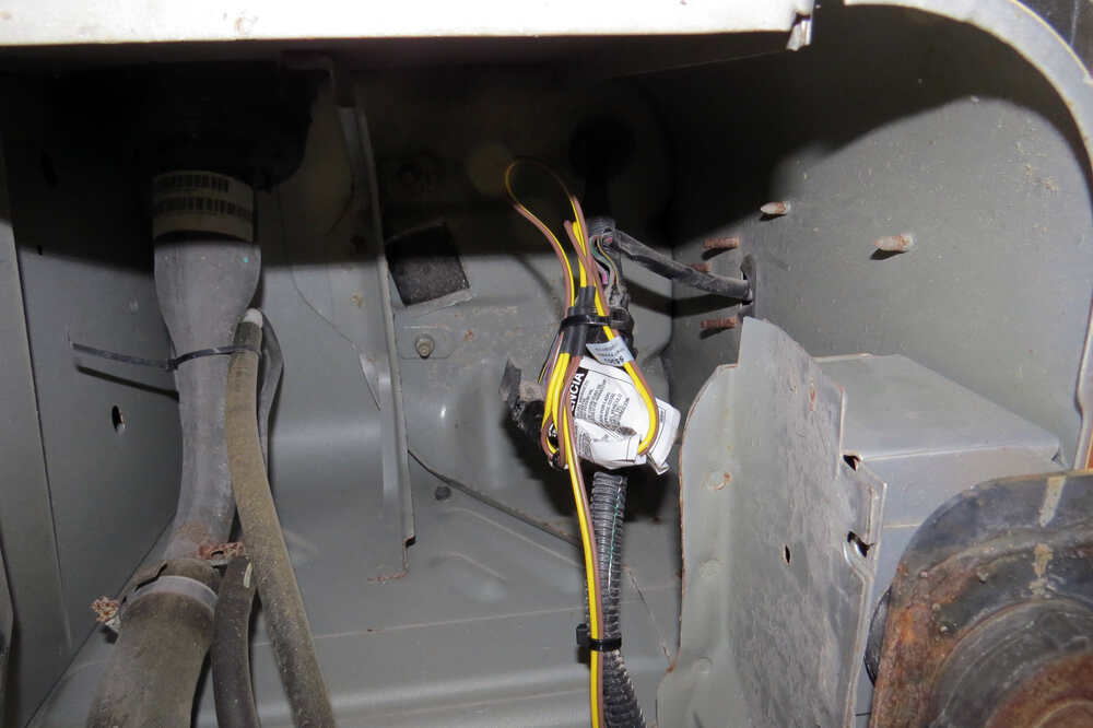 Jeep tj custom fit vehicle wiring curt
