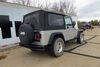 Curt 4 Flat Custom Fit Vehicle Wiring - C55363 on 2004 Jeep Wrangler