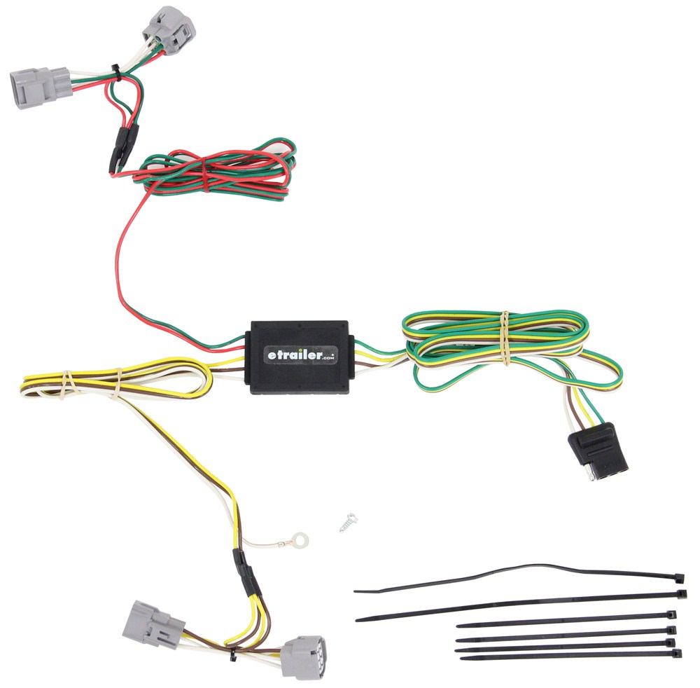 Compare Curt Trailer Hitch Vs T Connector Tconnector Vehicle Wiring Harness With 4pole Flat Custom Fit C55364