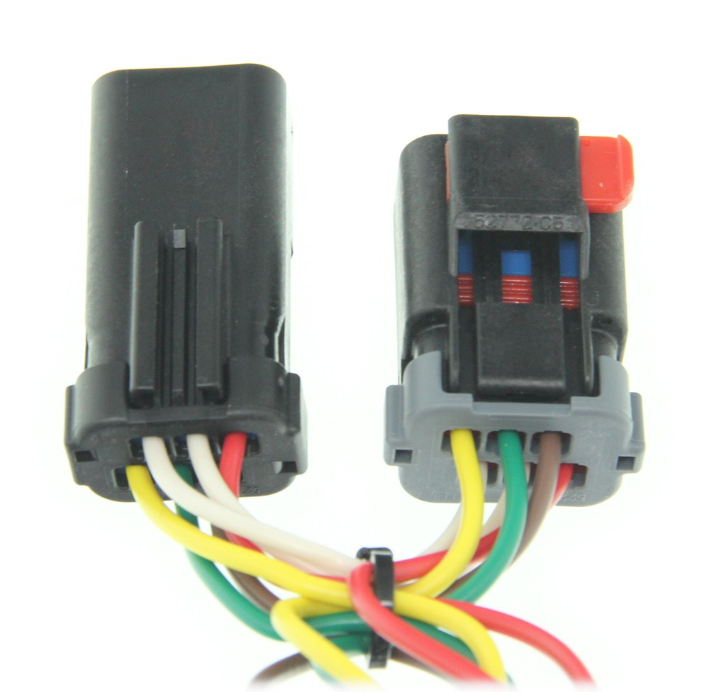 Compare T One Vehicle Wiring Vs Curt Connector Etrailercom Tconnector Harness With 4 Pole Trailer Flat Custom Fit C55376