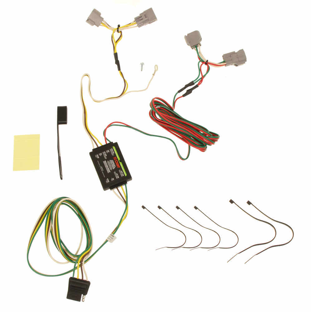 Compare Curt T Connector Vs One Vehicle Wiring Harness Custom Fit C55380