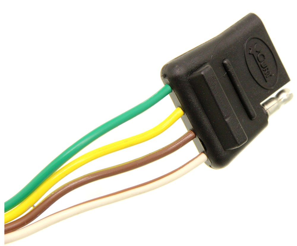 Compare Curt T Connector Vs One Vehicle Wiring Harness With 4 Pole Flat Trailer Custom Fit