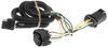 Custom Fit Vehicle Wiring C55384 - 4 Flat - Curt