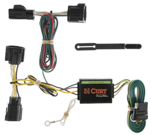 Wiring Harness For Jeep Commander : Jeep commander curt t connector vehicle wiring