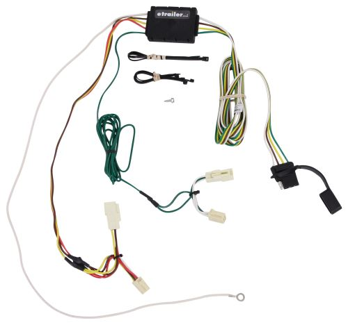 2002 Toyota Sienna Trailer Wiring Harness : Toyota sienna curt t connector vehicle wiring harness