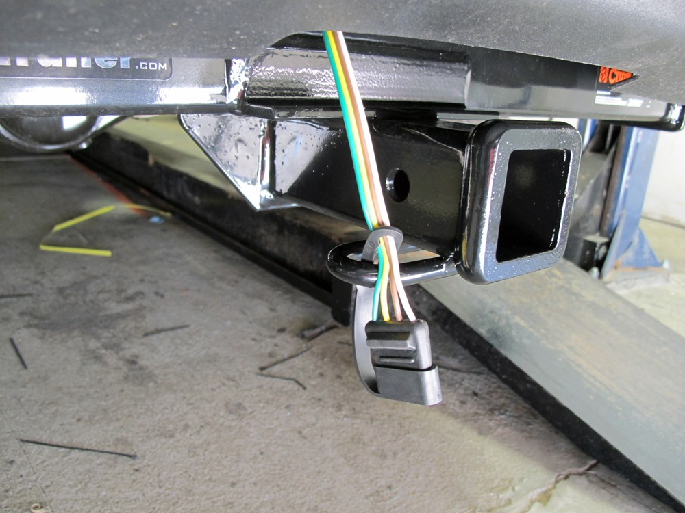 Install Trailer Wiring Harness Toyota Tacoma : Toyota tacoma custom fit vehicle wiring curt