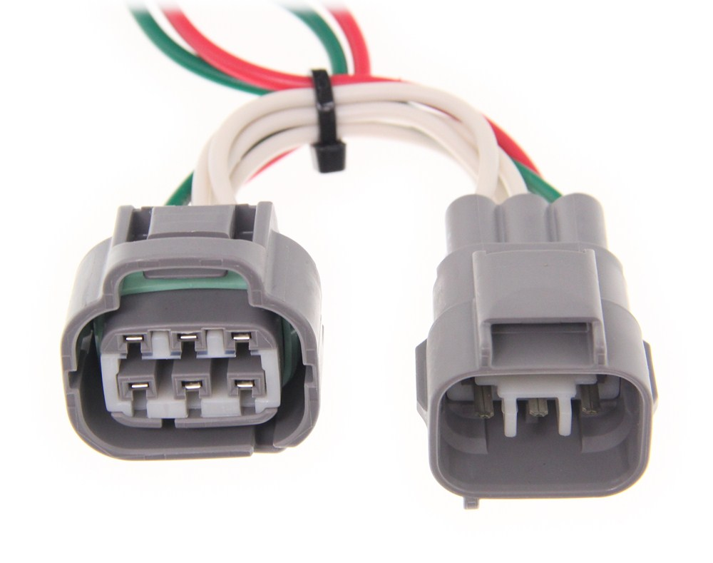 Curt T Connector Vehicle Wiring Harness With 4 Pole Flat Trailer To 7 End Tow Ready 30717 Custom Fit C55513
