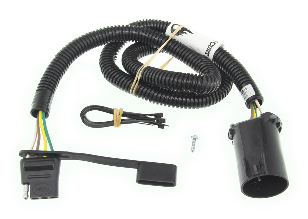 Curt T-Connector Vehicle Wiring Harness for Factory Tow ... on