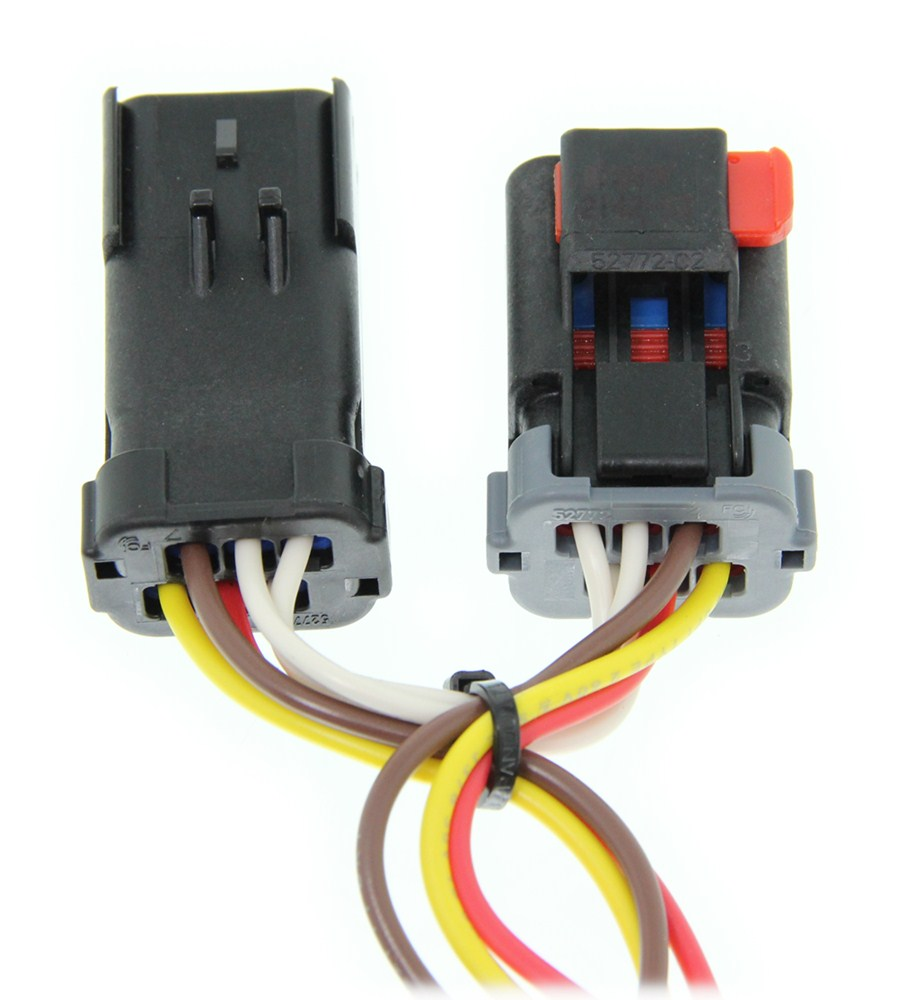 2017 Chrysler Pacifica Curt T Connector Vehicle Wiring Harness With Dutchmen Diagram 4 Pole Flat Trailer