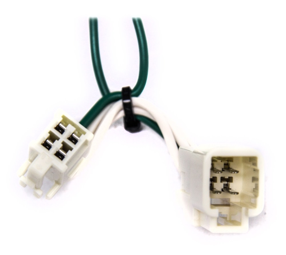 Compare T One Vehicle Wiring Vs Curt Connector Etrailercom Trailer Hitch Harness For Lexus Rx 350 C55563 4 Flat