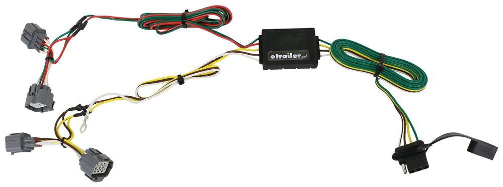 Trailer Wiring Harness 2006 Honda Element : Honda ridgeline curt t connector vehicle wiring