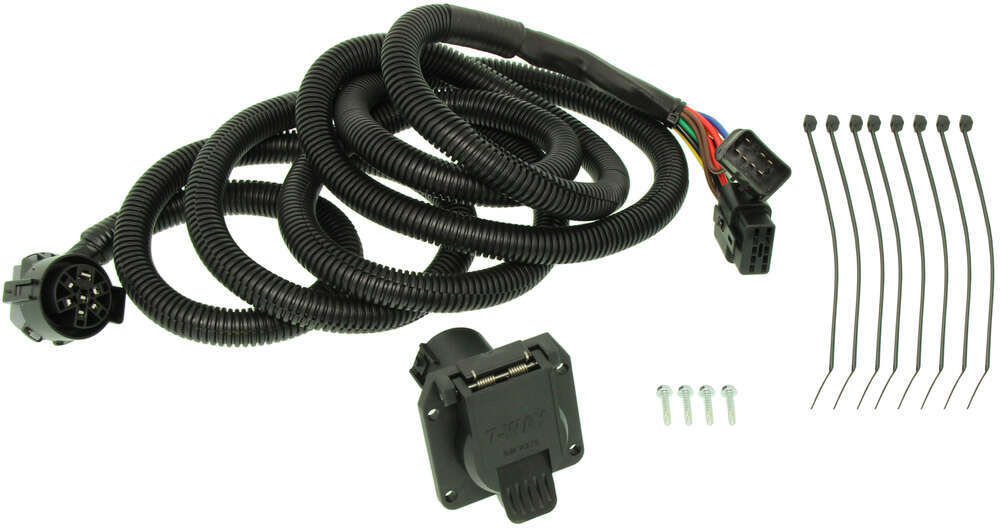 seven pole wiring harness curt 5th wheel gooseneck custom wiring harness w 7 pole #8