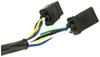 Curt 5th Wheel/Gooseneck Custom Wiring Harness w/ 7-Pole Connector - 10' Long Custom Fit C56001
