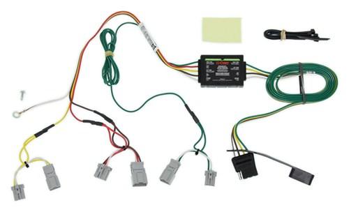compare t one vehicle wiring vs curt t connector etrailer com rh etrailer com trailer light t-connector wiring harness t-connector trailer wire harness