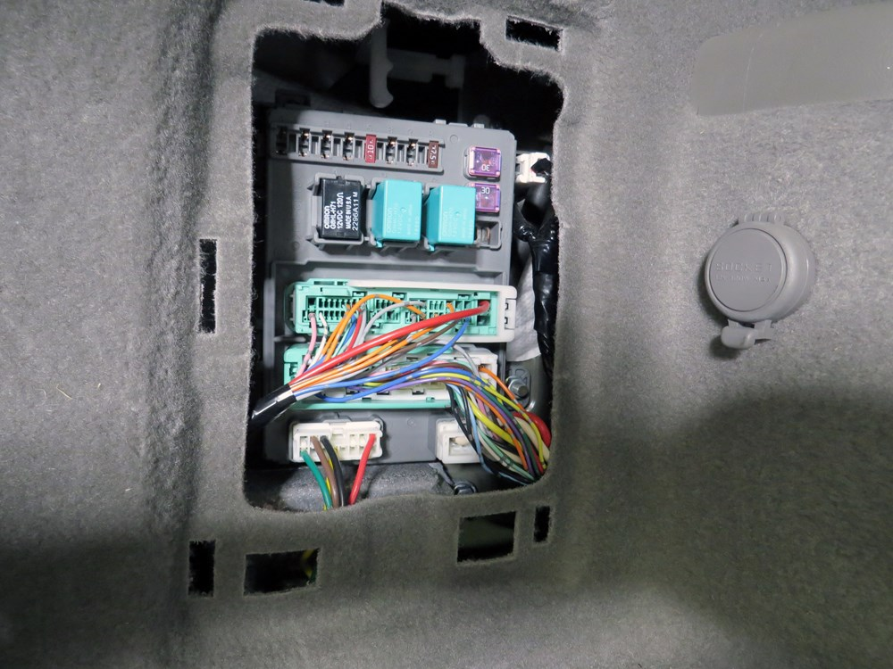2007 acura mdx custom fit vehicle wiring curt