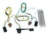 Curt T-Connector Vehicle Wiring Harness with 4-Pole Flat Trailer Connector 4 Flat C56056